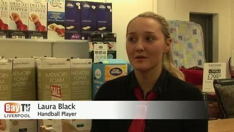 Laura Black, Great Britain under 19's Handball Player - Bay TV Liverpool | european handball skills | Scoop.it