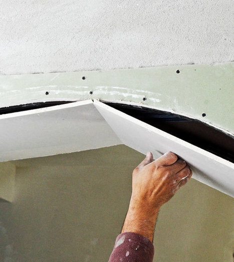 How To Drywall An Arch | How to Fix a Hole in Drywall - Fixing Holes in Drywall | Home Repair | Scoop.it