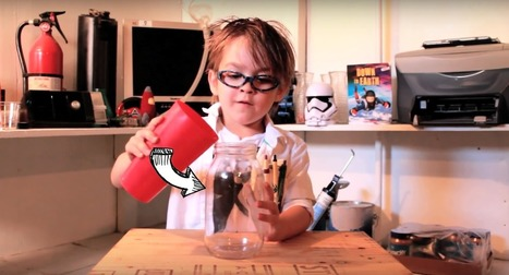 Oliver, le YouTubeur scientifique de 5 ans qui affole Internet | Culture scientifique et technique | Scoop.it