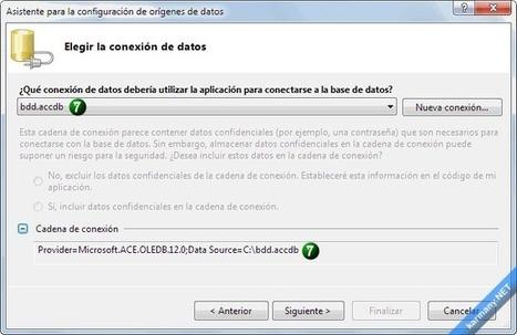 Base de datos con Visual Basic .NET o C# sin escribir código (I) | Taller de desarrollo de Sistemas de Información | Scoop.it