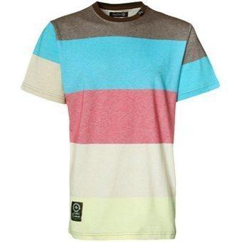 LRG Higher Trek Striped Knit T-shirt - Multi | Miquel Montes crèdit de síntesi | Scoop.it