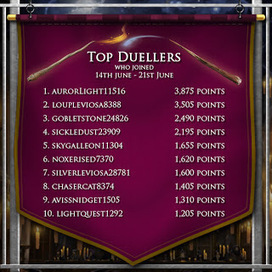 Pottermore Insider: Top duellers from the new students on Pottermore.com | Pottermore | Scoop.it