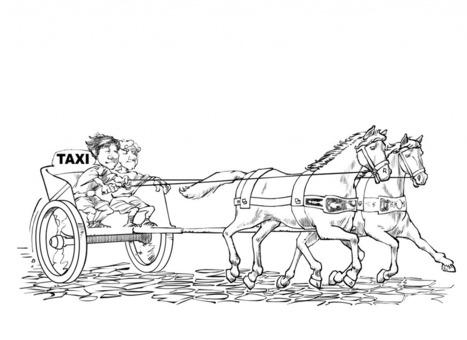 Taxis, taxímetros y controles de alcoholemia en la Antigua Roma | LVDVS CHIRONIS 3.0 | Scoop.it
