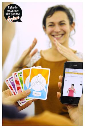 La langue des signes vous laisse sans voix ? Découvrez, jouez et «Dites-le en langue des signes» !  - Ludovia Magazine | TICE-en-classe | Scoop.it
