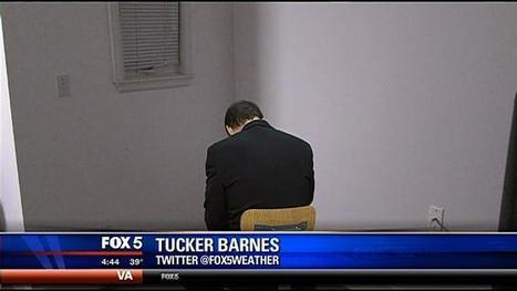 "FOX 5 Meteorologist Tucker Barnes in ""timeout"" for forecast 