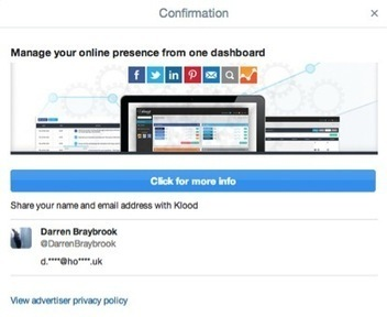 A Beginner's Guide to Twitter Lead Generation Cards | VEILLE DOC TICE 94 | Scoop.it