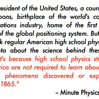 An Open Letter to the President: US physics education is crap. Let's fix it. | Dr. Goulu | Scoop.it