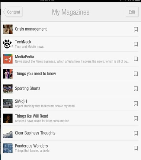 Flipboard as Your Monster Sharing Hub | Everything Marketing You Can Think Of | Scoop.it