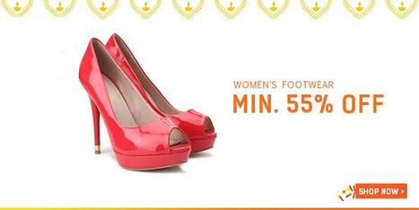 Minimum 55% Off On Women's Footwear | DribblingMan | Scoop.it