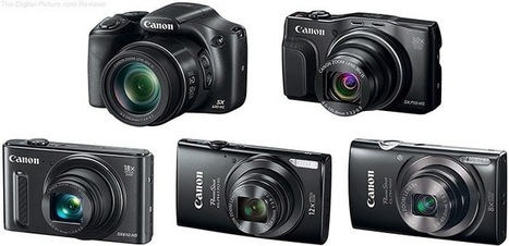 Amateur Photography: 5 New PowerShot Digital camera models from Canon U. S. A. Offer Functionality, Portability as well as Precision for Distinct, Beautiful Photos as well as HD Video | general news and onlines shoping | Scoop.it