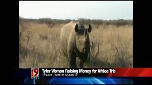 Tyler Texas girl raising money for African wildlife conservation trip | What's Happening to Africa's Rhino? | Scoop.it