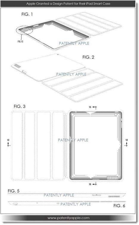 Apple Granted 40 Patents Today Covering Fingerprint Sensors, Pressure Sensor Displays, the iPad Smart Case and More | Macwidgets..some mac news clips | Scoop.it