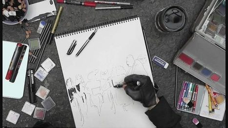 [Exclu Web] 'Karl Lagerfeld se dessine' de Loïc Prigent (bonus video : 'Les premiers rangs des défilés') | Arte | Fashion & more... | Scoop.it