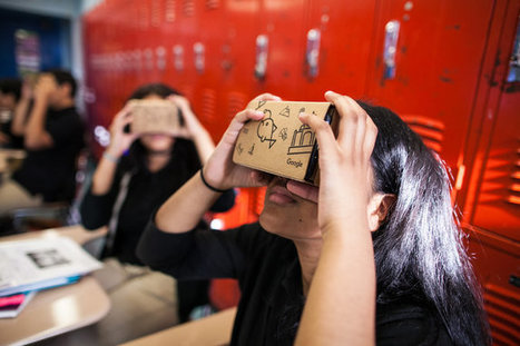 Google Virtual-Reality System Aims to Enliven Education | Mundos Virtuales, Educacion Conectada y Aprendizaje de Lenguas | Scoop.it