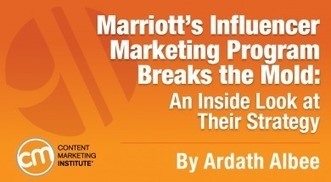 Marriott's Influencer Marketing Program Breaks the Mold: A Look at Their Strategy | Tourism Social Media | Scoop.it