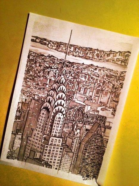 Twitter / AlanHurleyArt: Finished drawing. Hope ye like ... | Art Education | Scoop.it