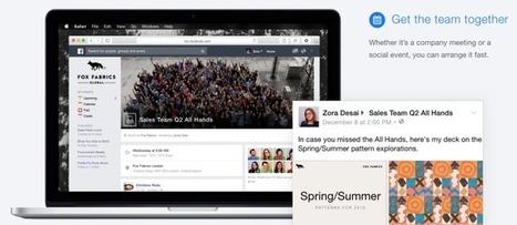 Facebook at Work : lancement imminent | Actualité Social Media : blogs & réseaux sociaux | Scoop.it