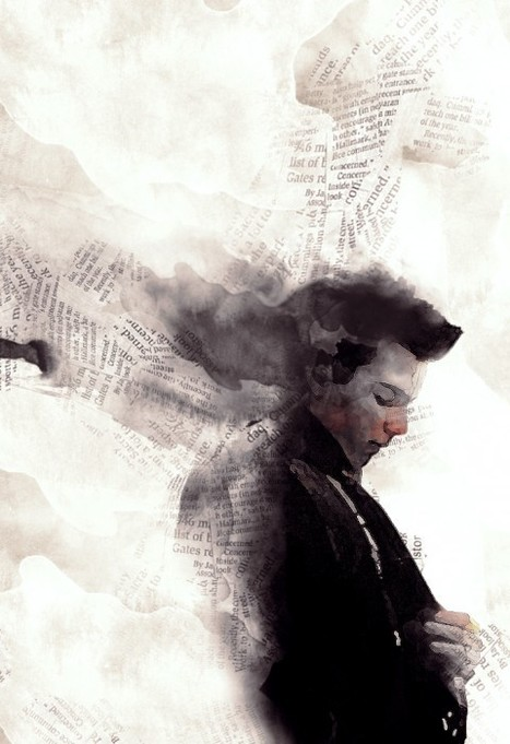 Create a Watercolor and Newspaper Collage in Photoshop - Photoshop Roadmap   Photoshop Photo Effects Journal   Scoop.it