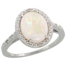 Beautiful Large Opal Rings | Victoria Haneveer | Fashion and Looking Great | Scoop.it