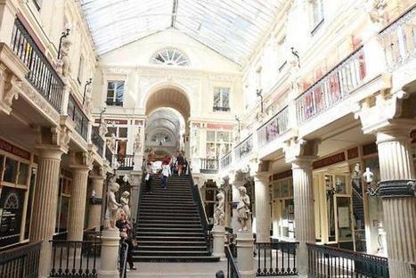 Le passage Pommeraye est devenu une marque | Innovation CCI Morlaix | Scoop.it