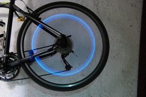 Bike wheel induction safety light | Open Source Hardware News | Scoop.it