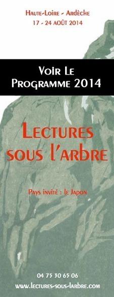 Le Programme des Lectures sous l'arbre 17/24 août 2014 Thème : le Japon Haute-Loire/Ardèche   Romans régionaux BD Polars Histoire   Scoop.it