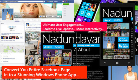 Tansform your Facebook Page into a Windows Phone App for $5 on www.fiverr.com   Windows Phone Apps by Udara Alwis   Scoop.it