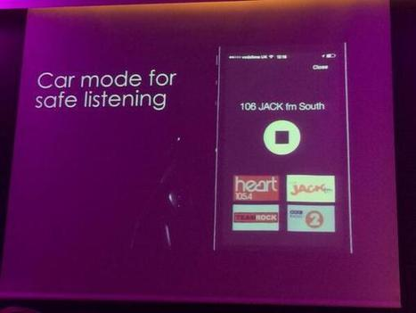 Radioplayer gets updated with Car Mode | Radio and Audio Updates | Scoop.it