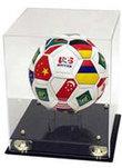 Soccer Ball Case - Deluxe | Sports Memorabilia Display Cases | Scoop.it