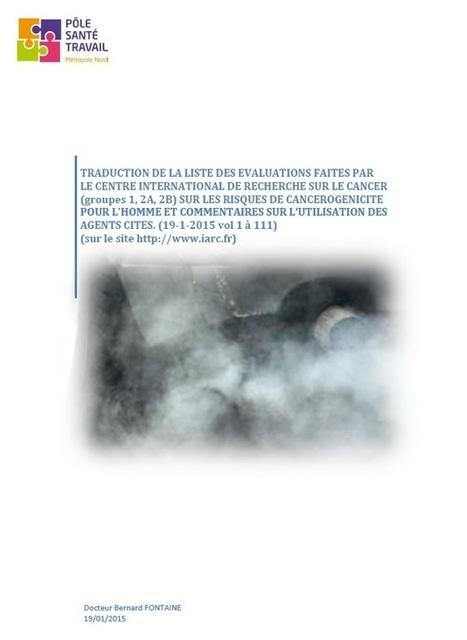 CIRC : Actualisation de la traduction de la liste des évaluations - ISTNF - Nord - Pas-de-Calais / Picardie | Risques au Laboratoire | Scoop.it