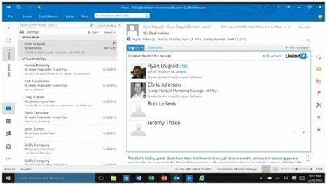 BUILD 2015 : Microsoft transforme Office en plateforme de services   SI4bestBusiness   Scoop.it