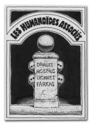 Humanoids buys original company logo drawn by Moebius | Robot 6 ... | moebius | Scoop.it