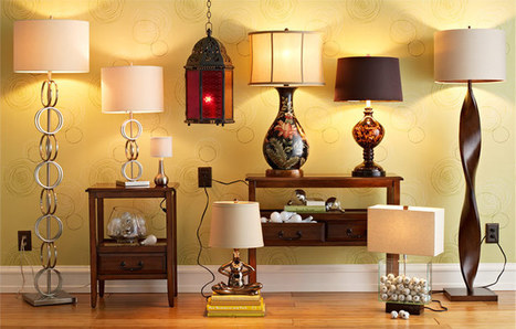 How to Pick the Perfect Lamp for Every Space ǀ Pier 1 Imports | Bedroom Design Ideas | Scoop.it