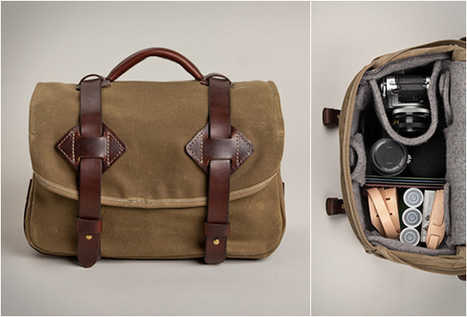 FIELD CAMERA BAG | LEATHER BAG ~ Grease n Gasoline | Beautiful clothes | Scoop.it