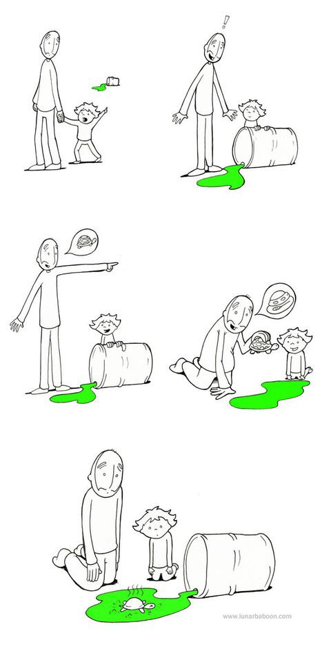 Yo también lo intentaría, todo sea por tener mi propia tortuga ninja | Humor racional | Scoop.it