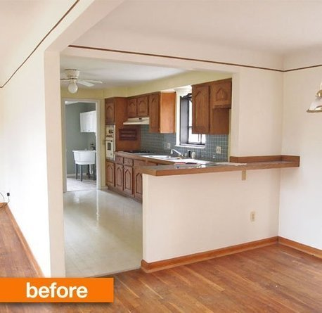 Before & After: Rick and Jessie's Fast-Track Kitchen Renovation ... | loan | Scoop.it