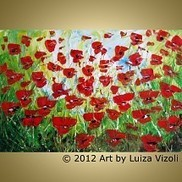 Buy Large Paintings, Large Paintings for Sale - ARTbyLuizaVizoli   Original-Painting   Scoop.it