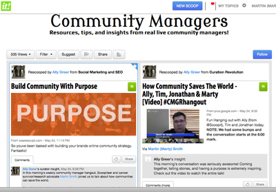 Great Community Managers Feed From Ally & Scoop.it | Social Media e Innovación Tecnológica | Scoop.it