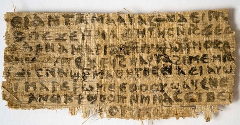 Papyrus Mentioning Jesus's Wife Is Likely Ancient and Not Fake, Scientists Say | Digital ancient history | Scoop.it