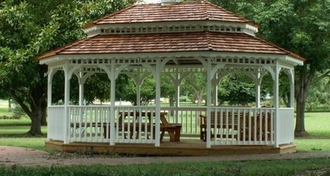 Exciting Ideas to Decorate your Gazebo | Home Improvement | Scoop.it