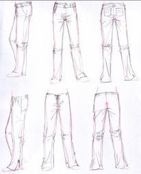 Cómo dibujar ropa y sus pliegues – Básico « Terra Anime y Manga | Dibujo | Scoop.it