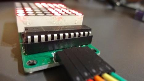 Tutorial: Matriz de LEDs de 8x8 | tecno4 | Scoop.it