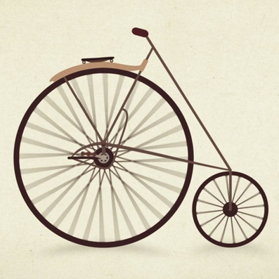 Watch the design evolution of the bicycle in a one minute animation | Navigate | Scoop.it