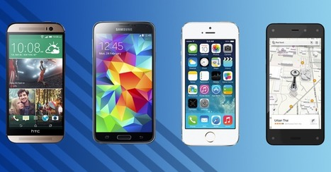 Amazon Fire Phone vs. iPhone 5S vs. Galaxy S5 vs. HTC One M8 | Mobile IT | Scoop.it