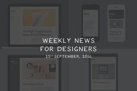 Weekly News for Designers (N.353) - wysiwyg.css, Sass-y Framework, AMP Project | El Mundo del Diseño Gráfico | Scoop.it