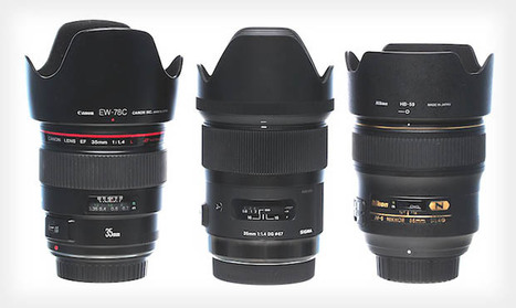 Sigma's New 35mm f/1.4 Has Impressive Sharpness Compared to Its Rivals | Giua's photography | Scoop.it