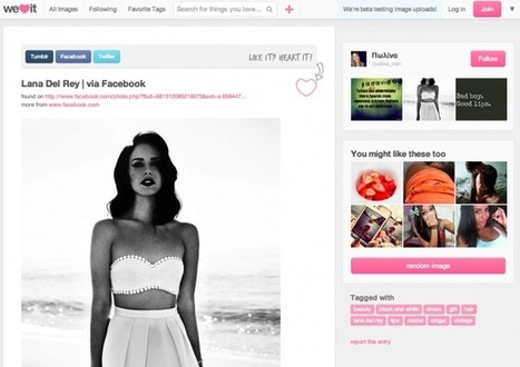 Another Pinterest Has Arrived In Silicon Valley: WeHeartIt Snags $8 Million With 20 Million Uniques | Everything Pinterest | Scoop.it