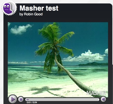Mix Together Video, Images and Music To Create Your Visual Mashup: Masher   How to find and tell your story   Scoop.it