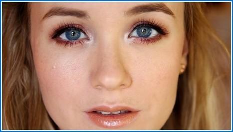 Maquillage yeux bleus et Cheveux marrons | Maquillage | Scoop.it