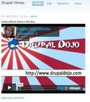 Media: Vimeo | Drupal.org | media | Scoop.it